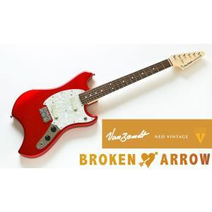 Vanzandt BROKEN ARROW Model Candy Apple Red (CAR) バンザント エレキギター ブロークン・アロウ|g-sakai