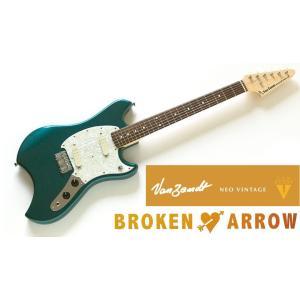 Vanzandt BROKEN ARROW Model Lake Placid Blue (LPB) バンザント エレキギター ブロークン・アロウ|g-sakai