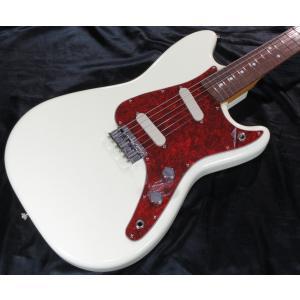 Vanzandt Bronson Model 【Vintage White / Red Tortoise Pickguard】  バンザント エレキギター ブロンソン|g-sakai