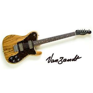 Vanzandt TLV-C90 Zebra Wood & Mahogany/Rose Model AMBER NATURAL バンザント エレキギター|g-sakai