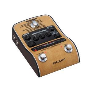 ZOOM AC-2 Acoustic Creator ズーム D.I.機能付きプリアンプ