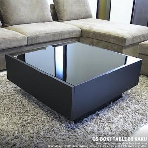 ガラス センターテーブル 引き出し / GS-BOXY COFFEE TABLE|g-shape|02