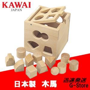 【送料無料】【日本製】KAWAI カワイ 抗菌パズルボックス 5141 知育玩具 おもちゃ 木製 パズル|g-store1