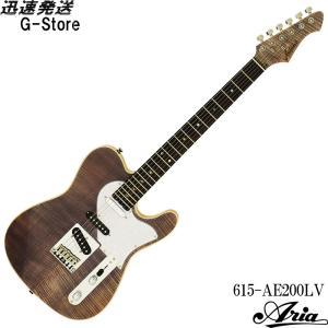 AriaProII エレキギター 615-AE200-LV イエローゴールド アリアプロ2 アリア・エバーグリーン g-store1