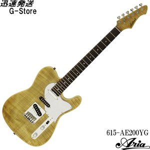 AriaProII エレキギター 615-AE200-YG イエローゴールド アリアプロ2 アリア・エバーグリーン g-store1