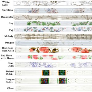 HALL CRYSTAL Flute D Offset クリスタルフルート D管 全長553mm プレゼントやインテリアにも最適|g-store1