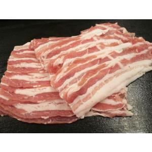 格安 国産 豚のバラ肉  (薄切りスライス) 200g|g-sumiyoshi