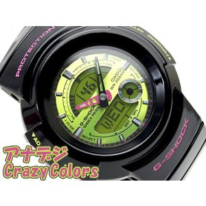 G-SHOCK Gショック ジーショック g-shock gショック クレイジーカラーズ グリーン×ブラック AW-582SC-1ADR 腕時計 G-SHOCK Gショック g-supply