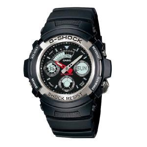 G-SHOCK Gショック ジーショック g-shock gショック アナデジ ブラック AW-590-1AJF