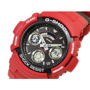 G-SHOCK ジーショック Gショック g-shock gショック アナデジ ブラック レッド AW-591RL-4ADR G-SHOCK Gショック g-supply