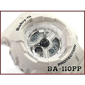 ベビーG Baby-G ベビージー パンチング・パターン・シリーズ 逆輸入海外モデル カシオ CASIO アナデジ 腕時計 ベージュ BA-110PP-7ADR BA-110PP-7A|g-supply