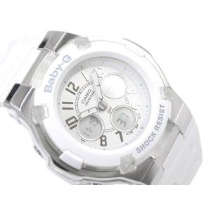 ベビーG カシオ Baby-G 腕時計 ベビーG BABY-G アナデジ腕時計 ホワイト BGA-110-7BDR|g-supply