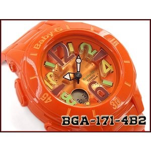 ベビーG ベビージー BABY-G Neon Marine Series ネオンマリンシリーズ 逆輸入海外モデル カシオ CASIO アナデジ 腕時計 オレンジ BGA-171-4B2|g-supply