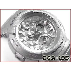 ベビーG Baby-G ベビージー 逆輸入海外モデル STUDS DIAL SERIES スタッズ ダイアル シリーズ カシオ CASIO アナデジ 腕時計 シルバー BGA-195-8A|g-supply
