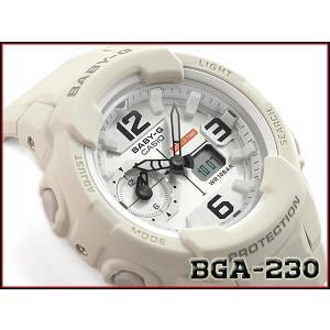 ベビーG Baby-G ベビージー 逆輸入海外モデル カシオ CASIO アナデジ 腕時計 ベージュ カーキ BGA-230-7B2DR BGA-230-7B2|g-supply