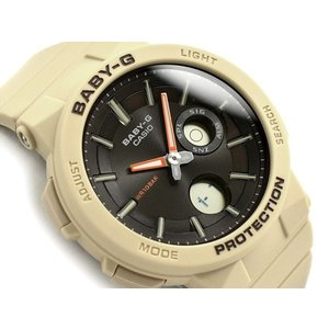 BABY-G ベビーG SUZUKI ハスラー ワンダラー 限定モデル ももクロ 百田 夏菜子着用 カシオ 腕時計 アイボリー BGA-255-5A