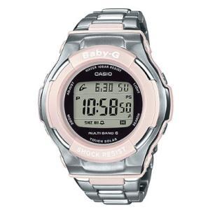 ベビーG BABY-G ベビージー CASIO カシオ 電波 ソーラー 電波時計 デジタル 腕時計 ピンク シルバー BGD-1300D-4JF 国内正規モデル