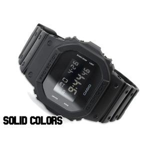 [予約商品 12/20日前後入荷予定]G-SHOCK Gショック ジーショック g-shock ソリッドカラーズ 限定モデル オールブラック デジタル 腕時計 DW-5600BB-1|g-supply|02