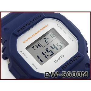 G-SHOCK Gショック ジーショック 限定 5600系 カシオ CASIO ミリタリー・シリーズ デジタル 腕時計 ネイビー DW-5600M-2