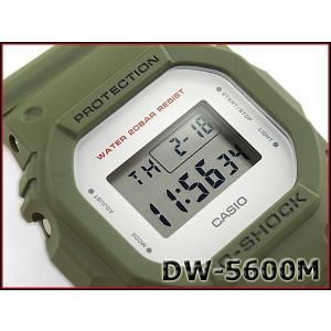 G-SHOCK Gショック ジーショック 限定 5600系 カシオ CASIO ミリタリー・シリーズ デジタル 腕時計 カーキグリーン DW-5600M-3 g-supply