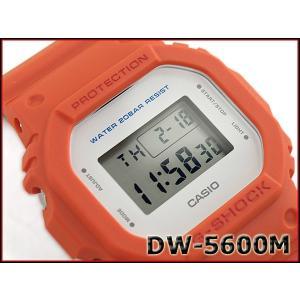G-SHOCK Gショック ジーショック 限定 5600系 カシオ CASIO ミリタリー・シリーズ デジタル 腕時計 オレンジ DW-5600M-4CR DW-5600M-4