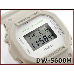 G-SHOCK Gショック ジーショック 限定 5600系 カシオ CASIO ミリタリー・シリーズ デジタル 腕時計 カーキベージュ DW-5600M-8