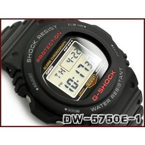 G-SHOCK Gショック ジーショック 35周年 限定 復刻 スティングモデル カシオ デジタル 腕時計 ブラック グレー DW-5750E-1|g-supply