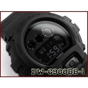 G-SHOCK Gショック ジーショック 逆輸入海外モデル CASIO デジタル 腕時計 マット オールブラック DW-6900BB-1|g-supply