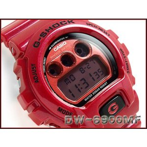 G-SHOCK Gショック ジーショック g-shock gショック メタリックダイアル レッド DW-6900MF-4 腕時計 G-SHOCK Gショック g-supply