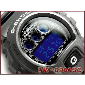 CASIO G-SHOCK カシオ Gショック ジーショック Crazy Colors クレージーカラーズ デジタル 腕時計 グレー ブラック ネイビー DW-6900SC-8DR|g-supply