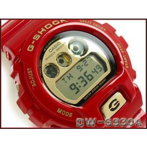 G-SHOCK Gショック ジーショック g-shock gショック 30周年限定モデル Rising RED デジタル腕時計 DW-6930A-4JR g-supply