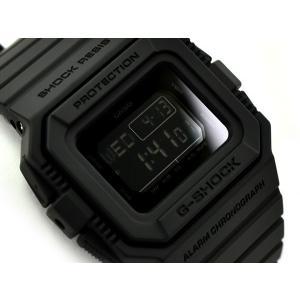 G-SHOCK Gショック ジーショック カシオ CASIO 5500 限定モデル 逆輸入海外モデル デジタル 腕時計 オールブラック DW-D5500BB-1