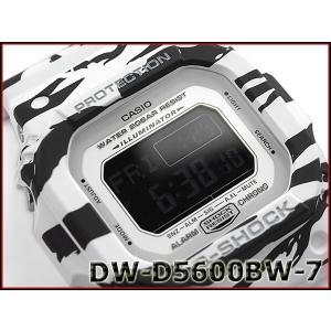 G-SHOCK Gショック ジーショック カシオ CASIO 限定モデル ホワイト&ブラックシリーズ デジタル 腕時計 ブラック ホワイト DW-D5600BW-7