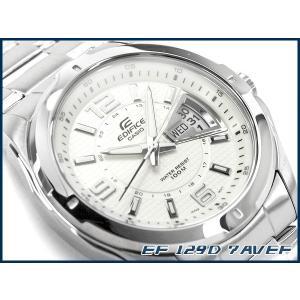 85f9fb7e6c CASIO EDIFICE カシオ 海外モデル エディフィス アナログ メンズ腕時計 コラムデイトカレンダー搭載 EF-129D ...