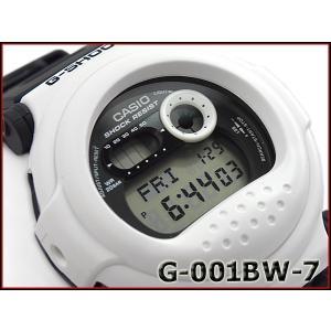 G-SHOCK Gショック ジーショック カシオ CASIO 限定モデル ジェイソン ホワイト&ブラックシリーズ デジタル 腕時計 ブラック ホワイト G-001BW-7|g-supply