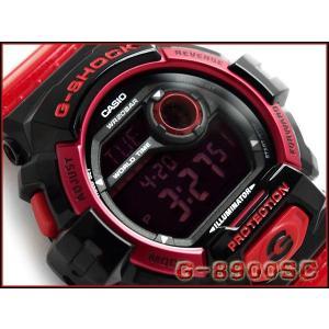 G-SHOCK Gショック ジーショック g-shock gショック クレイジーカラーズ レッド×ブラック G-8900SC-1RDR G-SHOCK Gショック|g-supply