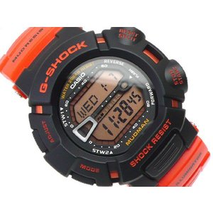 G-SHOCK Gショック ジーショック g-shock gショック MUDMAN オレンジ G-9000R-4DR 腕時計 G-SHOCK Gショック g-supply