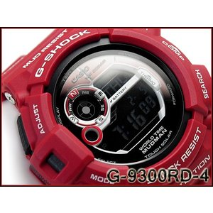 CASIO G-SHOCK カシオ Gショック ジーショック MUDMAN マッドマン メン・イン・レスキューレッド ソーラー デジタル 腕時計 レッド G-9300RD-4 g-supply