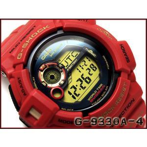 CASIO G-SHOCK カシオ Gショック 30周年記念限定モデル Rising RED MUDMAN マッドマン デジタル腕時計 レッド×ゴールド G-9330A-4 g-supply