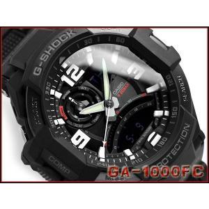 G-SHOCK Gショック ジーショック g-shock gショック SKY COCKPIT アナデジ オールブラック GA-1000FC-1ADR  腕時計 G-SHOCK Gショック