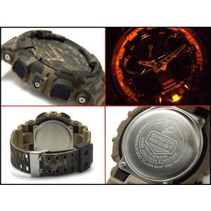 Gショック ジーショック G-SHOCK カシオ CASIO 限定モデル カモフラ アナデジ 腕時計 ゴールド グリーン カーキ GA-100CM-5A|g-supply|03