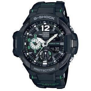 カシオ Gショック ジーショック スカイコックピット CASIO G-SHOCK SKY COCKPIT アナデジ 腕時計 メンズ グリーン ブラック GA-1100-1A3JF 国内正規モデル