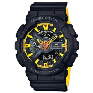 G-SHOCK Gショック ジーショック 限定 Black&Yellowシリーズ カシオ CASIO アナデジ 腕時計 イエロー ブラック GA-110BY-1AJF 国内正規モデル|g-supply