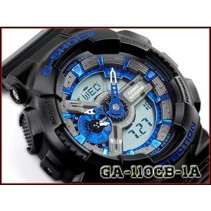 G-SHOCK Gショック カシオ CASIO アナデジ 腕時計 ブルー ブラック GA-110CB-1ACR GA-110CB-1A