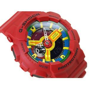 G-SHOCK Gショック ジーショック g-shock gショック クレイジーカラーズ イエロー ブルー レッド GA-110FC-1ADR 腕時計 G-SHOCK Gショック|g-supply