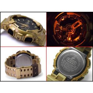 CASIO G-SHOCK カシオ Gショック 限定モデル クレイジーゴールド アナデジ 腕時計 ライトゴールド ブラック GA-110GD-9B|g-supply|03