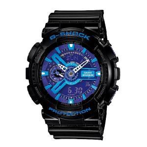 G-SHOCK Gショック ジーショック g-shock gショック ハイパーカラーズ ブルー ブラック GA-110HC-1AJF|g-supply