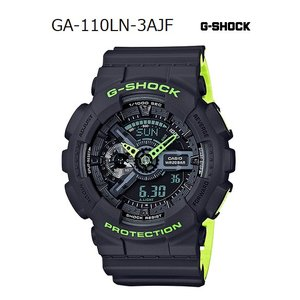 G-SHOCK Gショック ジーショック レイヤード・ネオンカラー カシオ CASIO アナデジ 腕時計 グリーン グレー GA-110LN-8AJF 国内正規モデル g-supply