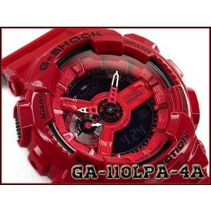G-SHOCK Gショック 逆輸入海外モデル パンチング・パターン・シリーズ CASIO カシオ アナデジ 腕時計 レッド ブラック GA-110LPA-4ACR GA-110LPA-4A g-supply