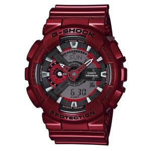 Gショック G-SHOCK ジーショック CASIO カシオ アナデジ 腕時計 レッド GA-110NM-4AJF 国内正規モデル g-supply
